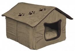 Спальное место для кошек - Hilla Cuddly Cave, 35 x 30 x 40 см