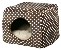 Спальное место для кошек - Mina Cuddly Cave, коричневый/бежевый, 40*32*40cm