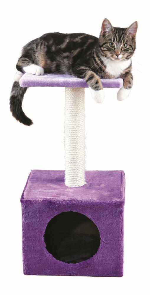 """Домик для кошек - """"Zamora"""", scratching post, 61cm, фиолетовый/lilac"""