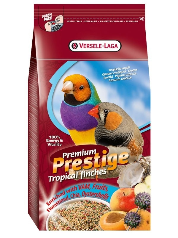 Корм для птиц - PrestigePremium Tropical Birds 1 кг