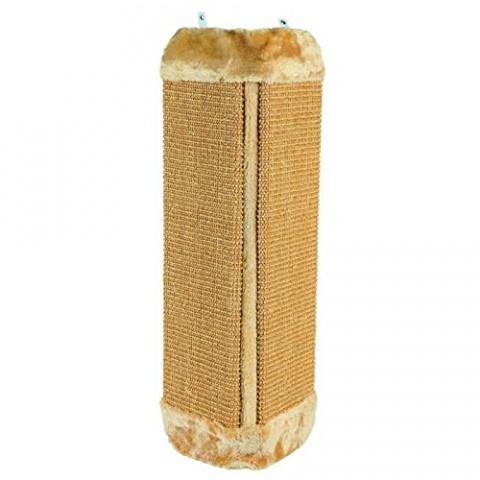 Когтеточка - Sisal Scratching Post угловая (коричневый) 32*60cm