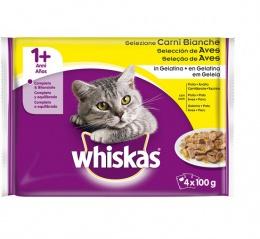 Консервы для кошек - Whiskas 4-ассорти с  курицей, 4*100g
