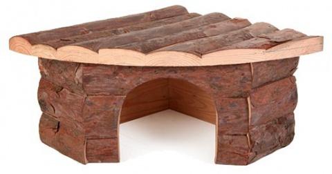Деревянный домик для грызунов - Trixie, деревянный, 42*15*30 см title=