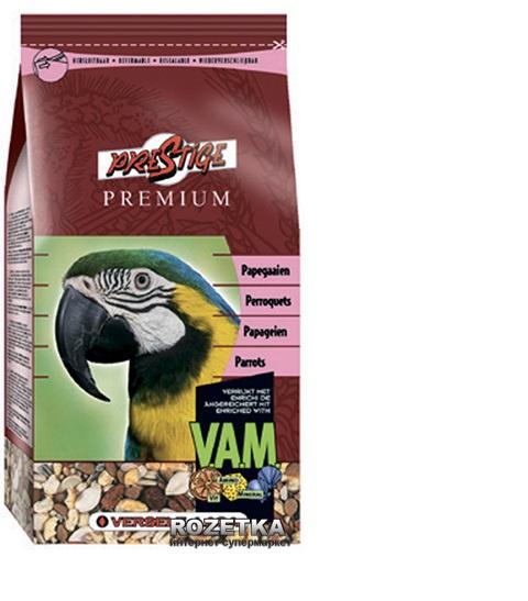 Корм для птиц - PrestigePremium Parrots 1kg title=