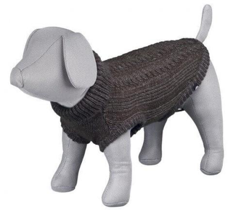 Джемпер для собак - Langley pullover, XS, 30 cm, коричневый title=