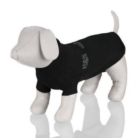 Джемпер для собак - Kingston Pullover, XS, 25 cm, черный