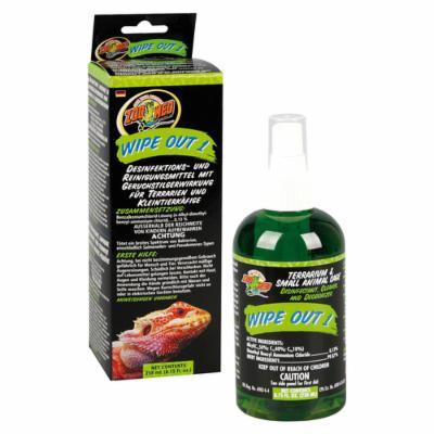 Средство для дезинфекции и чистки террариума - ZOO MED Wipe Out 1 258 мл