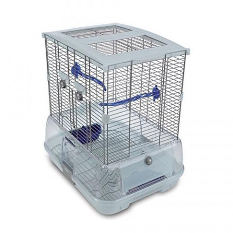 Клетка для птиц – Klec Vision II S01, 45,7 x 35,6 x 50,8 см title=