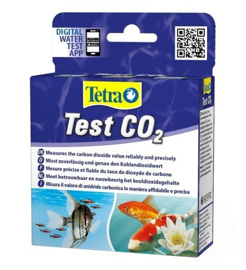 Тест для пресноводного аквариума - Tetra CO2 Test, 10мл