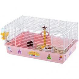 Клетка для грызунов - Ferplast Klec CRICETI 9 PRINCESS WHITE, 46 x 29,5 x 23 см
