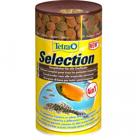 Корм для рыб - Tetra Selection 250ml title=