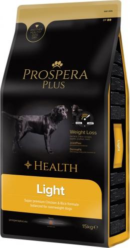 Диетический корм для собак - Prospera Plus Light, 15 кг