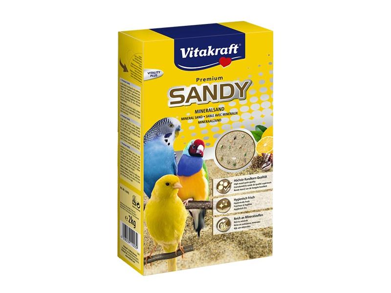 Песок для птиц - Vitakraft Bio Sand 2 кг