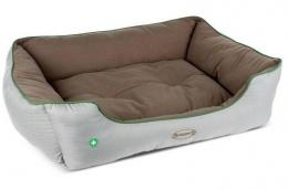 "Спальное место для собак - Scruffs ""Insect Shield"" Box Bed, противопаразитарный матрас, 90*70см"