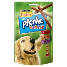 Лакомство для собак - Friskies Picnic Variety, 126g