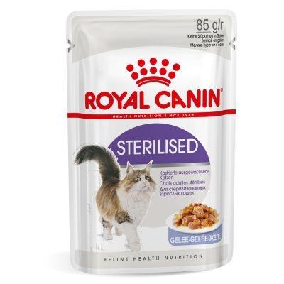 Консервы для кошек - Royal Canin Feline Sterilised (в желе), 85 г title=