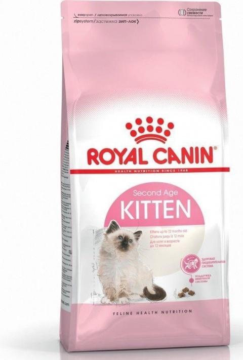 Корм для котят - Royal Canin Feline Kitten, 4 кг title=