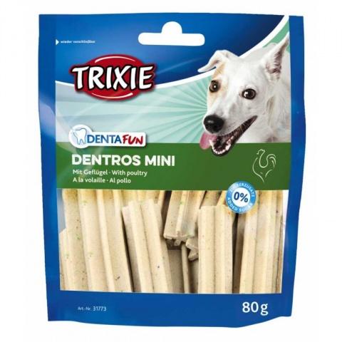 Лакомство для собак - Trixie Denta Fun Dentros Mini 60 g