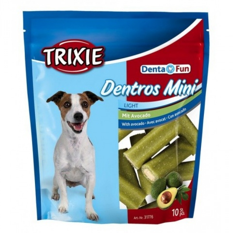 Лакомство для собак - Trixie Denta Fun Dentros Mini with avocado, 140 г