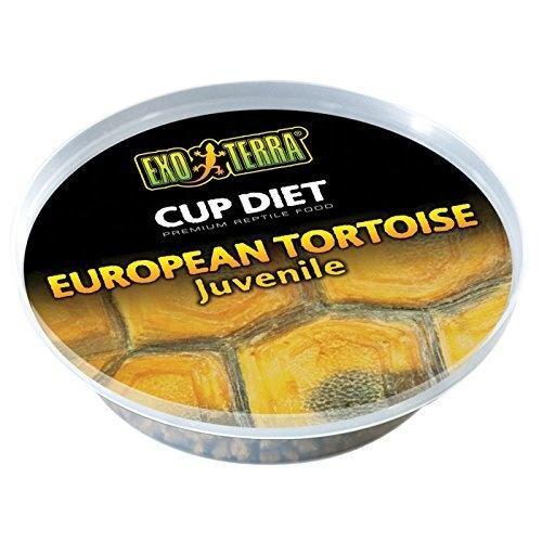Корм для рептилий - Exo Terra European Tortoise Food Juvenile 25 g