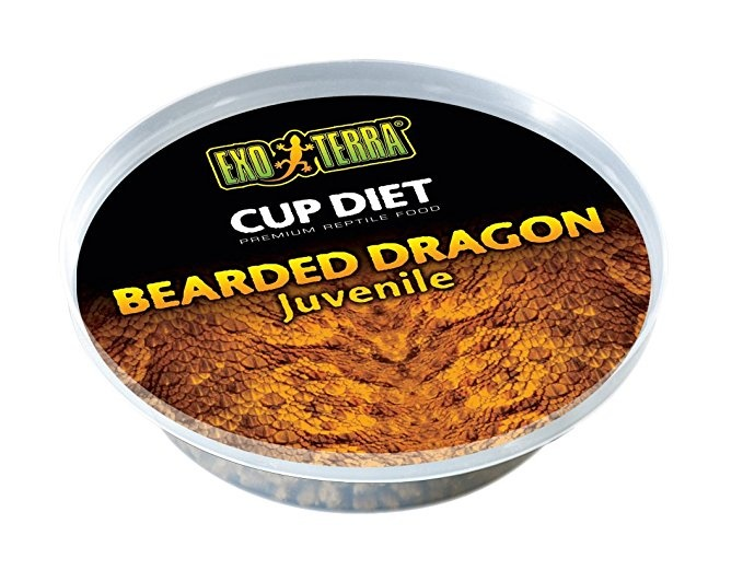 Корм для рептилий - Exo Terra Bearded Dragon Food Juvenile 25 g