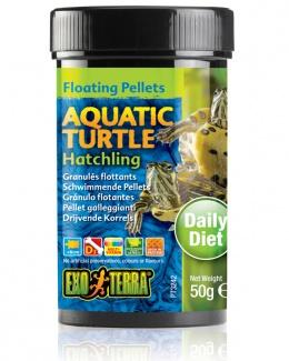 Корм для рептилий - Exo Terra Aquatic Turtle Food Hatchling 50 g