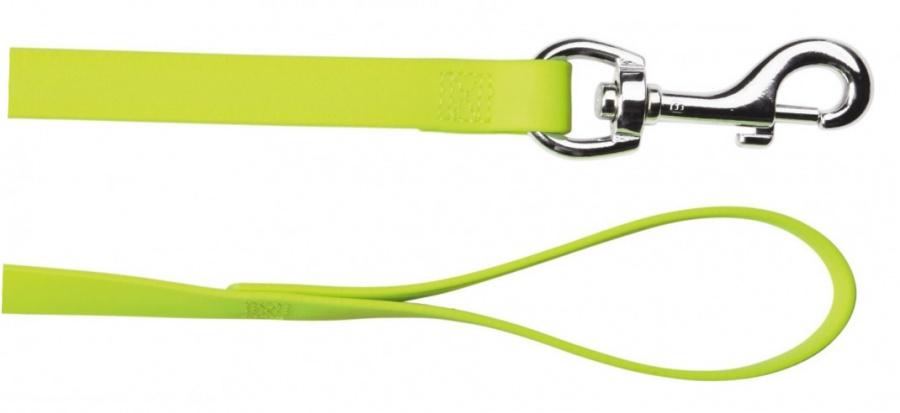 Отражающий поводок для собак - TRIXIE Easy Life Lead, S-XL, цвет - неоновый желтый