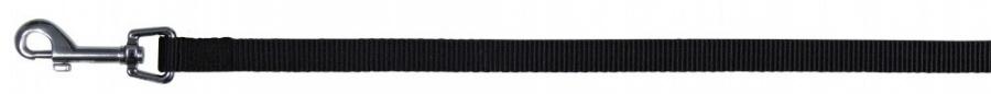 Поводок для собак - Trixie Classic leash, L–XL, черный