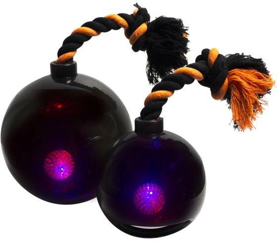 Игрушка для собак - Bomber Bomb Tug Ball, 17 cm