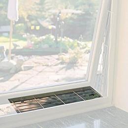 Trixie защитная решетка на окна  - (Верхняя часть), 65x16 cм, цвет - белый