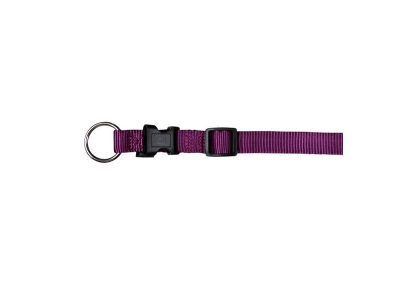 Ошейник для собак - TRIXIE Premium Collar, нейлон, 35-55см/20мм, цвет - фиолетовый