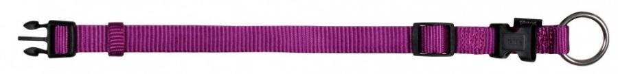 Ошейник для собак - TRIXIE Premium Collar, нейлон, 30-45см/15мм, цвет - фиолетовый