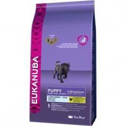 Корм для собак - Eukanuba Puppy & Junior Large Breed, 3 kg
