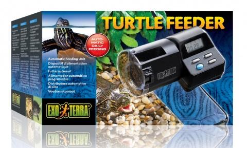 Автоматическая кормушка для черепах - Exo Terra Turtle Automatic Feeder, 200 мл title=