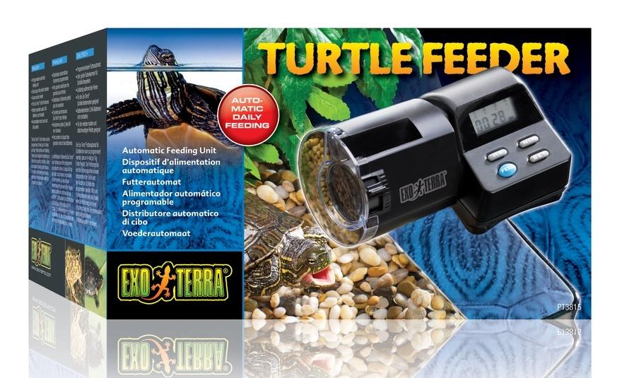 Автоматическая кормушка для черепах - Exo Terra Turtle Automatic Feeder, 200 мл