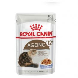 Консервы для кошек - Royal Canin Feline Ageing+12 (в желе) 85г
