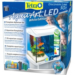 Аквариум - TETRA Aqua Art LED 30l, Goldfish, white