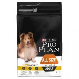Диетический корм для собак - Pro Plan Dog All Sizes Adult Light Chicken, 3 кг