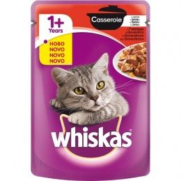 Консервы для кошек - Whiskas Casserole Beef, 85 г.