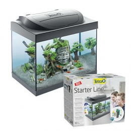 Аквариум - TETRA Starter Line LED 30l, Goldfish, black