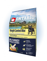 Ontario Mini Weight Control Turkey & Potatoes