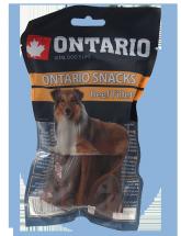 Ontario Rawhide Snack fillets 12,5cm 10ks