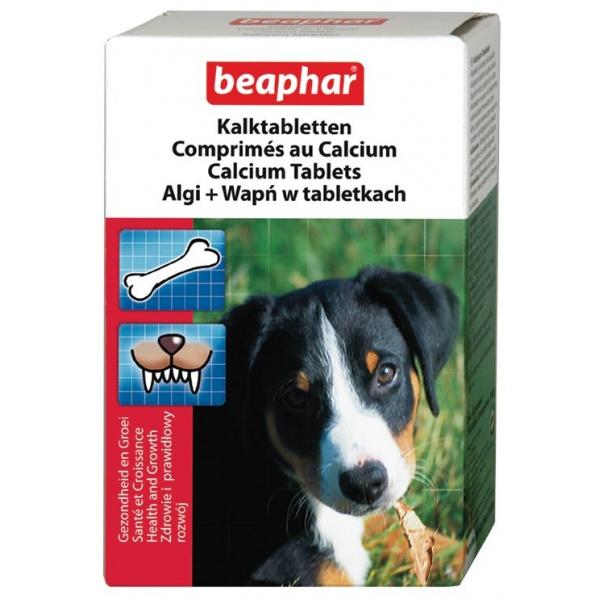 Tablety minerální doplněk stravy s vápníkem beaphar kalk
