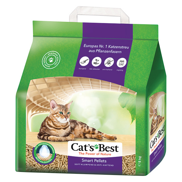 Kočkolit JRS Cats Best Smart Pellets 10l
