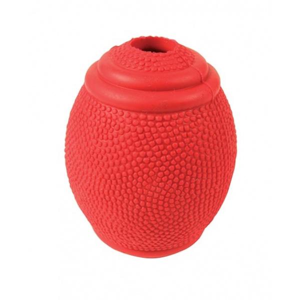 Hračka pro psy trixie míč ragby na pamlsky 8cm