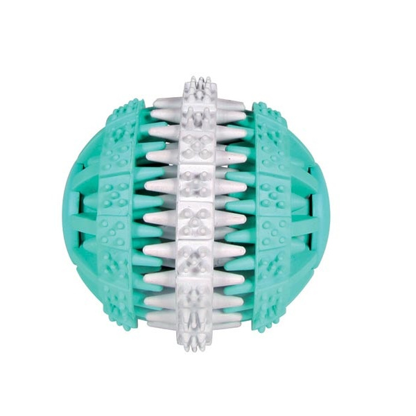 Hračka pro psy míček denta fun trixie 6cm s mátou