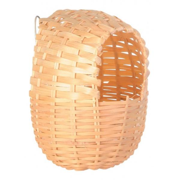 Hnízdo pro ptáky bambusové trixie 11x12cm