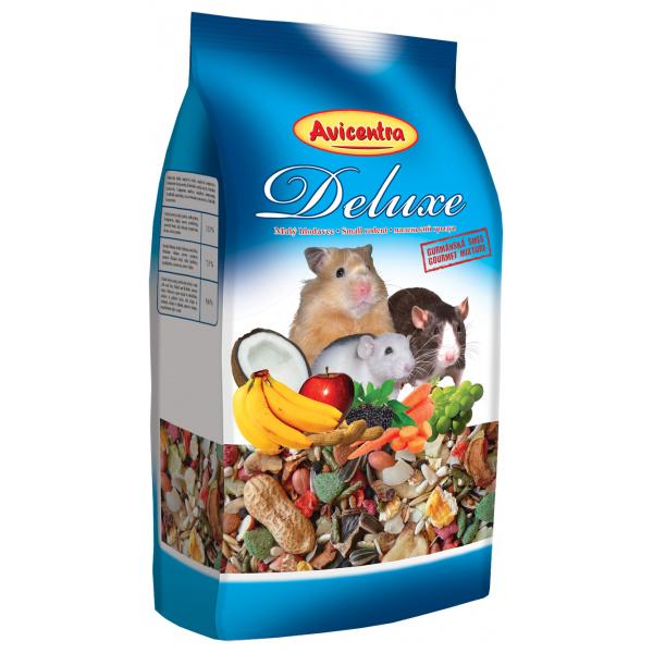 Krmivo avicentra delux pro malé hlodavce 1kg