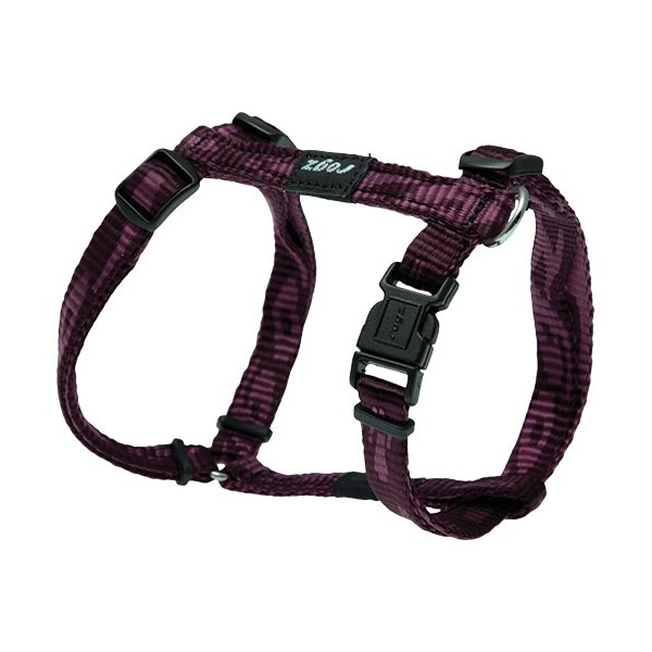Postroj rogz alpinist fialový s