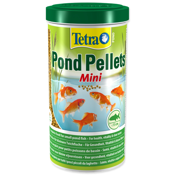 Tetra pond pellets mini 1l